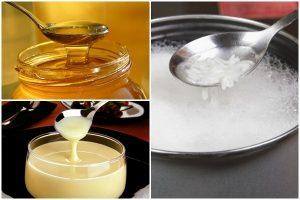 Mặt nạ từ gạo, mật ong và sữa – giúp làn da trẻ hóa nhanh chóng