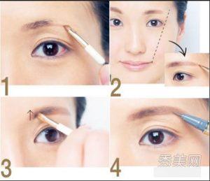 Sử dụng chì kẻ theo đúng hướng dẫn và bạn sẽ có đôi lông mày đẹp và bắt mắt.