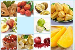 Các loại trái cây có tính nóng sẽ khiến các nốt mụn nhiều hơn và lâu khỏi hơn