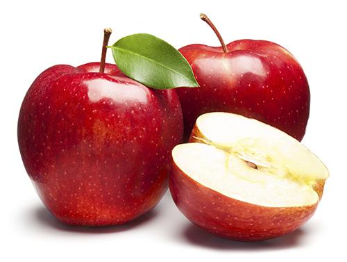Làm trắng răng bằng táo
