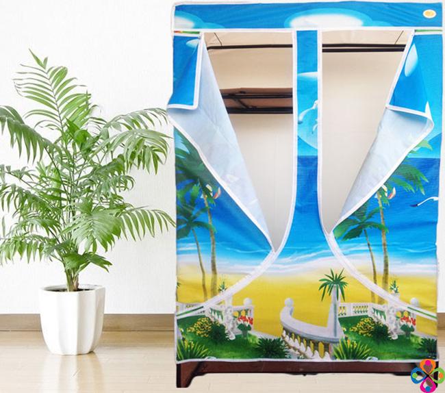 Tủ vải là lựa chọn lý tưởng cho căn phòng nhỏ hẹp