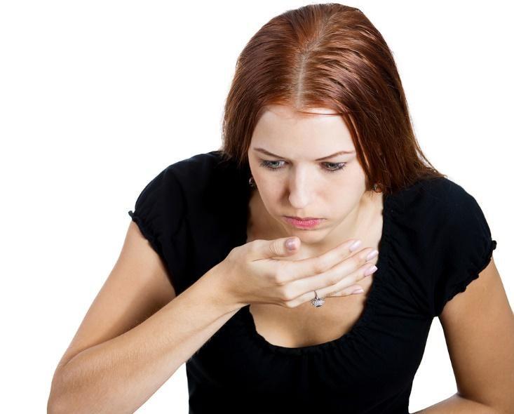 Tình trạng ốm nghén khi mang thai
