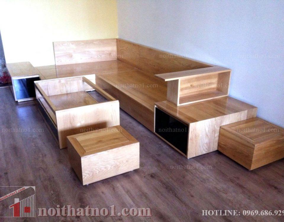 Bộ bàn ghế gỗ nhỏ đẹp hiện đại
