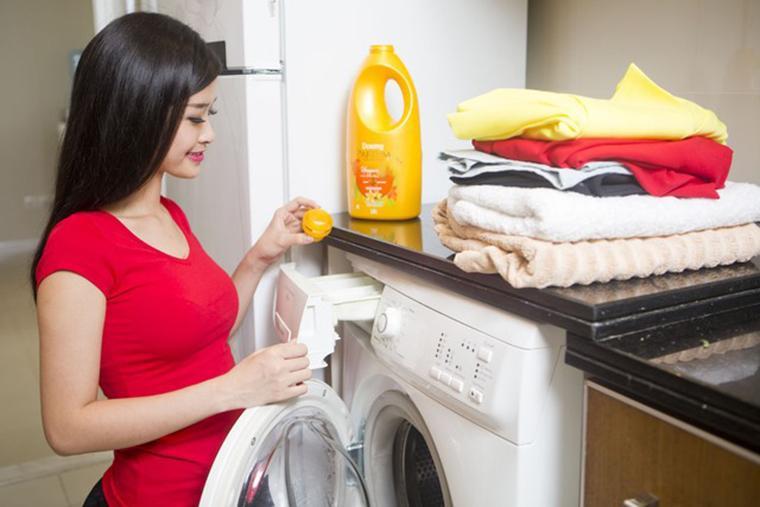 Chọn nước giặt là tiêu chí sử dụng máy giặt đúng cách