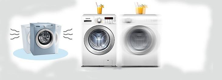 Máy giặt Electrolux bị rung lắc mạnh do hỏng giảm sóc