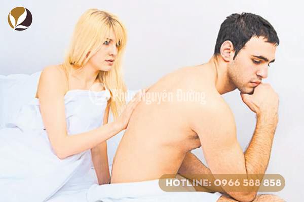 Biểu hiện yếu sinh lý ở nam giới