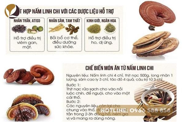 Công dụng và cách chế biến nấm linh chi đơn giản nhất