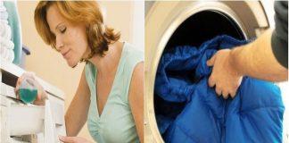 Hướng dẫn cách giặt áo lông vũ bằng máy giặt hiệu quả