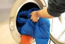 Áo lông vũ có giặt được bằng máy giặt không?
