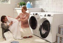 Cách bật chế độ vắt của máy giặt