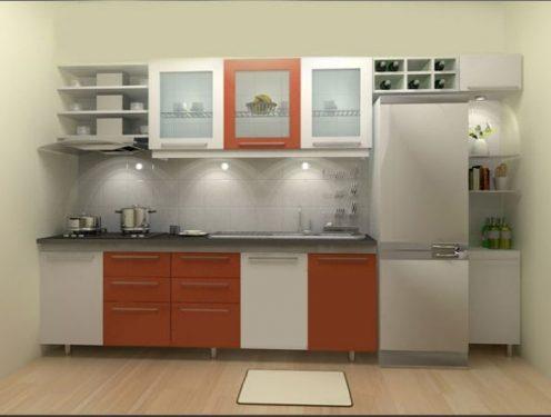 mẫu tủ bếp nhỏ