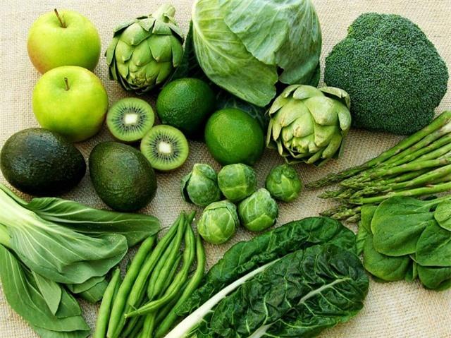 Các loại rau quả
