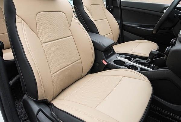Bọc ghế da công nghiệp loại 1 thường được sử dụng cho dòng xe Hyundai Tucson