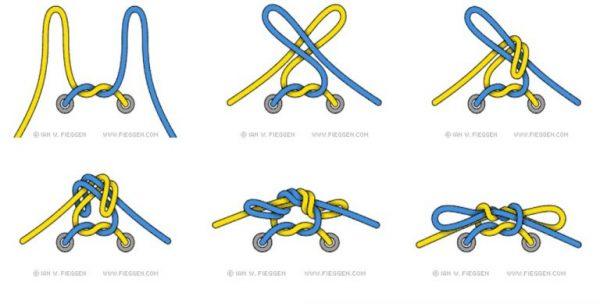 Áp dụng cách này để buộc dây giày đá bóng nhé!